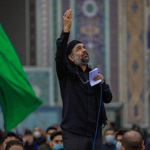 دانلود مداحی چشم من میهمان دریا شد محمود کریمی