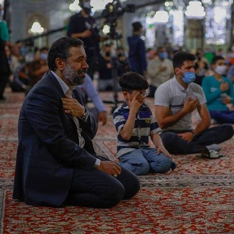 دانلود مداحی خوابم بیدارم کن محمود کریمی